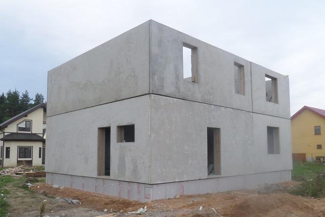 дома из железобетонных панелей фото
